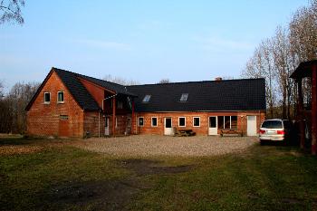 Aussenansicht vom Gruppenhaus 03453079 Gruppenhaus LURENDAL in Dänemark 6580 Vamdrup für Gruppenfreizeiten