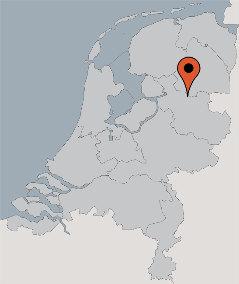 Karte von der Gruppenunterkunft 00310770 Gruppenhaus BALKBRUG in Dänemark 7707 PL Balkbrug für Kinderfreizeiten