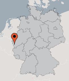 Karte von der Gruppenunterkunft 00490524 Guppenhaus Rursee in Dänemark D-52385 NIDEGGEN für Kinderfreizeiten