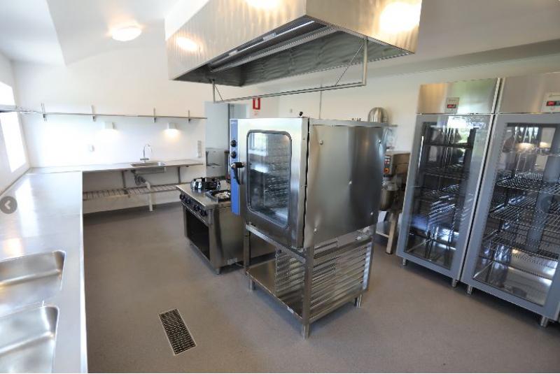 Küche von der Gruppenunterkunft 03453819 KLK-Gruppenhaus - THORØGAARD in Dänemark 5610 Assens für Jugendfreizeiten