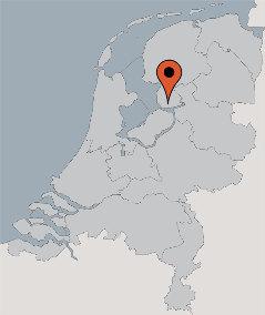 Karte von der Gruppenunterkunft 00310831 Ferienhaus FLEVOLAND in Dänemark 8308 Nagele für Kinderfreizeiten