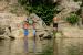 5. Wasser ZEBU-Dorf Frankreich Ardèche