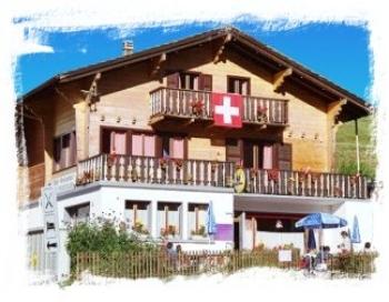 Aussenansicht vom Gruppenhaus 05415201 Gruppenhaus Forclaz Haus II - Wallis in Schweiz CH-1985 La Forclaz-Wallis für Gruppenfreizeiten