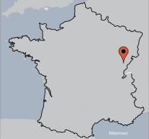 Aussenansicht vom Gruppenhaus 05335335 Gruppenhaus ORNANS in Frankreich F-25290 Ornans für Gruppenfreizeiten