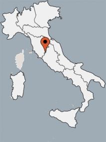 Karte von der Gruppenunterkunft 09399002 Gruppenhaus Casa San Martino in Dänemark I-50063  Figline Valdarno Fl für Kinderfreizeiten