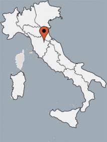 Karte von der Gruppenunterkunft 09399003 TOSKANA-Casa Montelungo in Dänemark 52028 Terranuova Bracciolini AR für Kinderfreizeiten