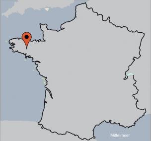 Karte von der Gruppenunterkunft 05335247 Gruppenhaus RANDO PLUME in Dänemark F-56310 Melrand für Kinderfreizeiten