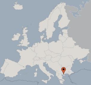 Karte von der Gruppenunterkunft 04304011 Gruppenhäuser-Bungalows Metamorfosi in Dänemark 14451 Metamorfosi für Kinderfreizeiten