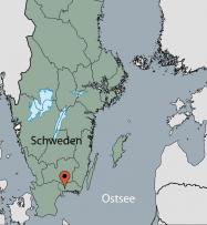 Aussenansicht vom Gruppenhaus 04464014 Asarum in Schweden 37491 Asarum für Gruppenfreizeiten