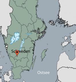 Karte von der Gruppenunterkunft 04464073 Freizeitanlage Hillerstorp in Dänemark S-33033 Hillerstorp für Kinderfreizeiten