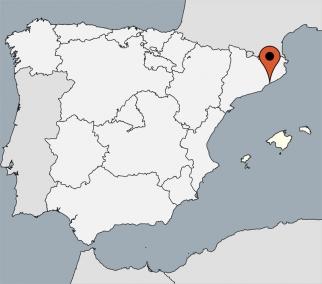 Karte von der Gruppenunterkunft 04344032 Chalet CASA TORRENT II in Dänemark 08360 Canet de Mar für Kinderfreizeiten