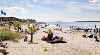 Bilder von Bademöglichkeiten vom Ferienhaus für Gruppen 03453467 Vesterbølle Efterskole in Dänemark 9631 Gedsted für Jugendfreizeiten
