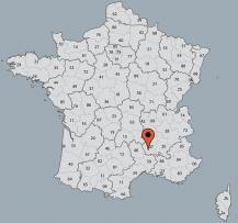 Aussenansicht vom Gruppenhaus 05335430 Gruppenhaus VILLENEUVE DE BERG in Frankreich 07170 Villeneuve de Berg für Gruppenfreizeiten