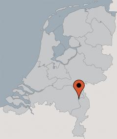 Karte von der Gruppenunterkunft 00310580 GRUPPENHAUS BOERENHOEVE I in Dänemark 5813 Ysselstein für Kinderfreizeiten
