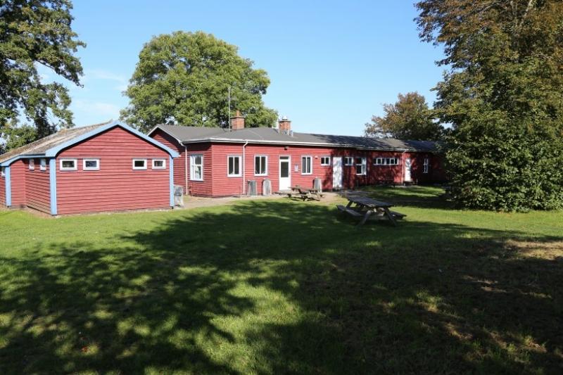 Bademöglichkeit von der Gruppenunterkunft 03453818 KLK-Gruppenhaus - SKOVHYTTEN in Dänemark 5610 Assens für Jugendfreizeiten