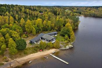 Aussenansicht vom Gruppenhaus 04464020 Bockaberg in Schweden  44891 Floda für Gruppenfreizeiten
