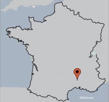 Aussenansicht vom Gruppenhaus 05335445 Gruppenhaus DUNIERE SUR EYRIEUX  in Frankreich 07360 Dunière-sur-Eyrieux für Gruppenfreizeiten