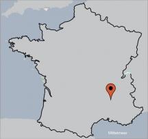 Aussenansicht vom Gruppenhaus 05335444 Gruppenhaus VILLENEUVE-DE-BERG  in Frankreich  Villeneuve de Berg für Gruppenfreizeiten