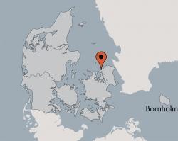 Aussenansicht vom Gruppenhaus 03453835 KLK-Gruppenhaus NORA MORTENSEN MINDE in Dänemark 3360 Liseleje für Gruppenfreizeiten