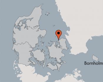 Karte von der Gruppenunterkunft 03453835 KLK-Gruppenhaus Nora Mortensen Minde in Dänemark 3360 Liseleje für Kinderfreizeiten