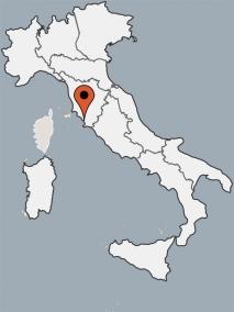 Karte von der Gruppenunterkunft 00390201 ZEBU-DORF ITALIEN- TOSCANA-Talamone in Dänemark 58015 Orbetello für Kinderfreizeiten