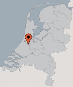 Karte von der Gruppenunterkunft 00310241 Gruppenhaus DE GROENE HART in Dänemark 2411  Bodegraven für Kinderfreizeiten