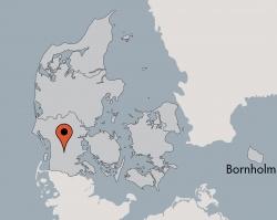 Aussenansicht vom Gruppenhaus 03453901 Højskolen TOFTLUND in Dänemark 6520 Toftlund für Gruppenfreizeiten