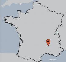 Aussenansicht vom Gruppenhaus 05335840 Gruppenhaus GRILLON in Frankreich  Grillon für Gruppenfreizeiten
