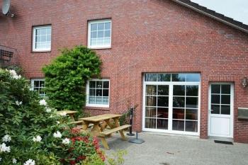 Aussenansicht vom Gruppenhaus 00490266 Gruppenhaus Auerk in Dänemark 26605 Aurich für Gruppenfreizeiten