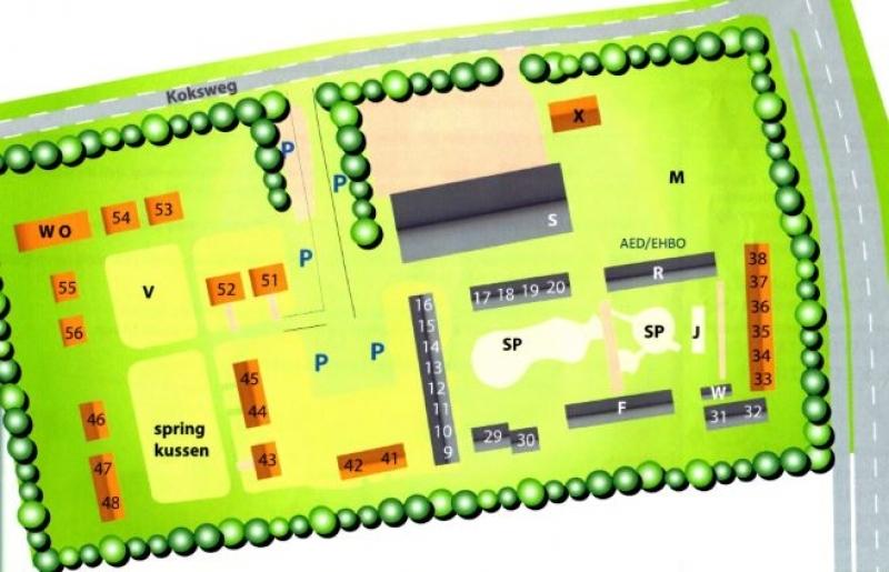 Grundrisse von der Gruppenunterkunft 00310437 Gruppenhaus Zeemeeuw in Dänemark 4371 RC Koudekerke für Jugendfreizeiten