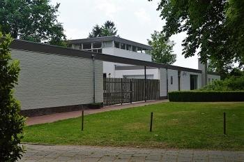 Aussenansicht vom Gruppenhaus 07317037 Gruppenhaus HE HE & DE BRINKAUS in Niederlande 5844 Steevensbeek für Gruppenfreizeiten