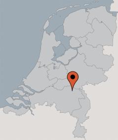 Karte von der Gruppenunterkunft 00315371 Gruppenhaus MOESBOS in Dänemark 5374 SC Schaijk für Kinderfreizeiten