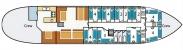 1. Grundrisse Segelschiff JOHANNA ENGELINA