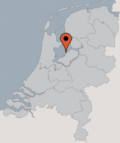 Karte von der Gruppenunterkunft 03103358 Segelschiff KAAT MOSSEL in Dänemark 8861 Lelystad für Kinderfreizeiten