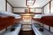 1. Schlafzimmer Traditionelles Segeleschiff LAWEERSZEE
