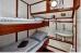 2. Schlafzimmer Traditionelles Segeleschiff LAWEERSZEE