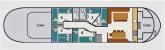 1. Grundrisse Plattbodensegler Mercuris CC