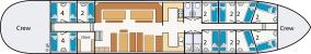 1. Grundrisse Plattbodensegelschiff NORDVAARDER