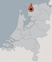 Aussenansicht vom Gruppenhaus 08318003 Gruppenhaus HOF HOLLUM in Niederlande 9161 Hollum für Gruppenfreizeiten
