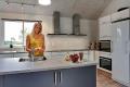 Küchenbild vom Gruppenhaus 03453850 Pilevænget Hus in Dänemark 5400 Bogense für Familienfreizeiten