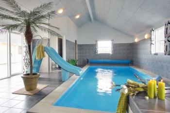 Bilder von Bademöglichkeiten vom Ferienhaus für Gruppen 03453851 Gruppenhaus MØLLEBAKKEN in Dänemark 6470 Sydals für Jugendfreizeiten