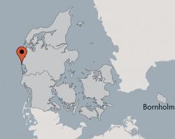 Aussenansicht vom Gruppenhaus 03453853 Gruppenhaus HUS VESTKLIT in Dänemark 6950 Ringkoebing für Gruppenfreizeiten