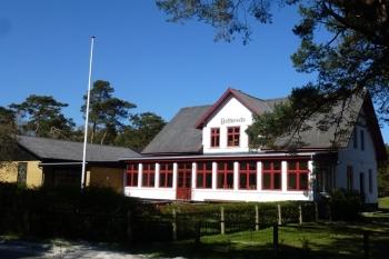 Aussenansicht vom Gruppenhaus 03453500 Gruppenhaus BETHESDA in Dänemark 3730 Nexoe für Gruppenfreizeiten