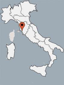 Karte von der Gruppenunterkunft 00390105 ZEBU<sup>®</sup>-Dorf Toskana - XXL - XXXL - in Dänemark 58046 Marina di Grosseto für Kinderfreizeiten