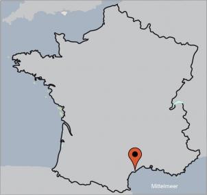 Karte von der Gruppenunterkunft 05335858 NARBONNE - DEPARTEMENT AUDE in Dänemark 11100 Narbonne-Plage für Kinderfreizeiten