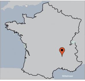 Karte von der Gruppenunterkunft 05335499 Gruppenhaus GENESTELLE  in Dänemark  Genestelle für Kinderfreizeiten