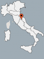 Aussenansicht vom Gruppenhaus 05395444 Borgo San Fortunato in Italien 06081 Assisi für Gruppenfreizeiten