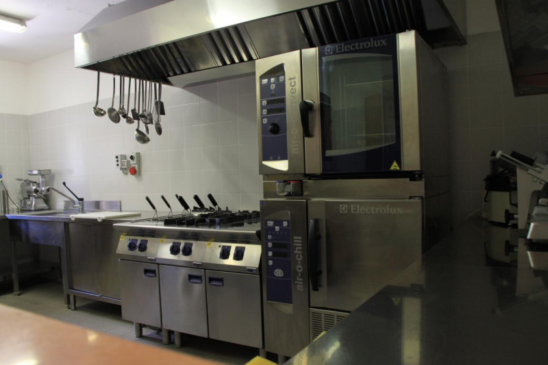 Küche von der Gruppenunterkunft 05395444 Borgo San Fortunato in Italien 06081 Assisi für Jugendfreizeiten