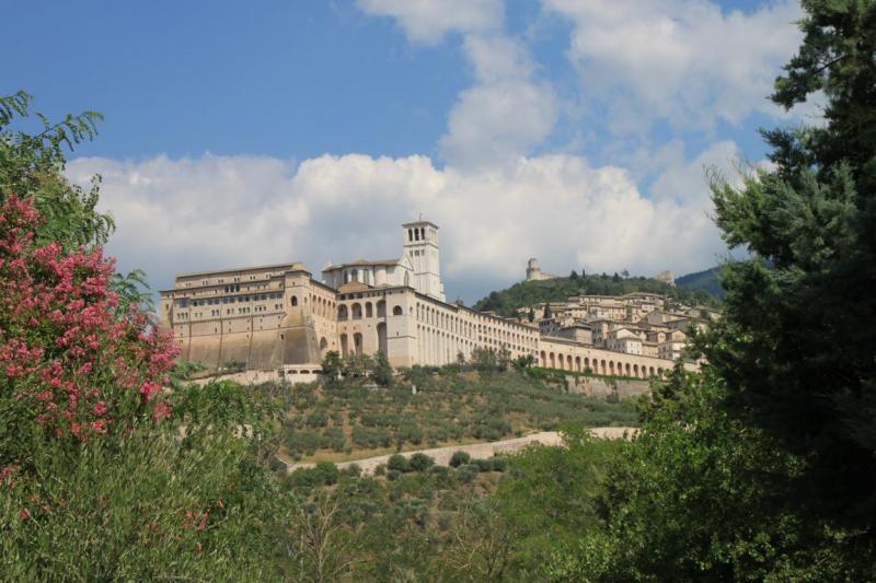 Bademöglichkeit von der Gruppenunterkunft 05395444 Borgo San Fortunato in Italien 06081 Assisi für Jugendfreizeiten