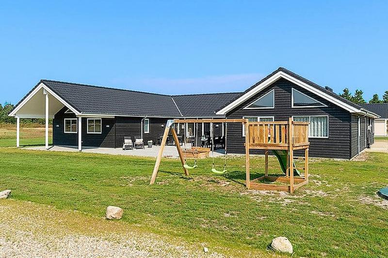 Aussenansicht von der Gruppenunterkunft 03453855 Aktivhus Houstrup in Dänemark 6830 Nørre Nebel Sogn, für Jugendfreizeiten